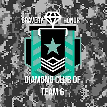 Diamond Club Digital Camo by ShirtDude