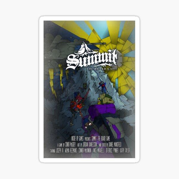 Summit Movie Poster Sticker