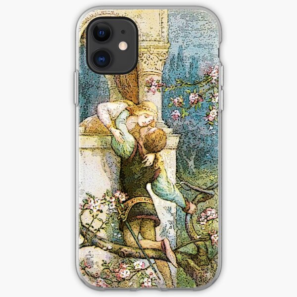 ROMEO AND JULIET VINTAGE iPhone Soft Case