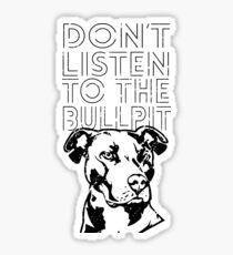 Pitbull graphic Sticker
