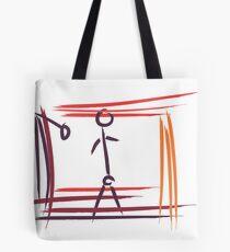Stickman Tote Bag