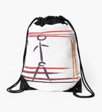 Stickman Drawstring Bag