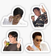 Kris Jenner Stickers Pack Sticker