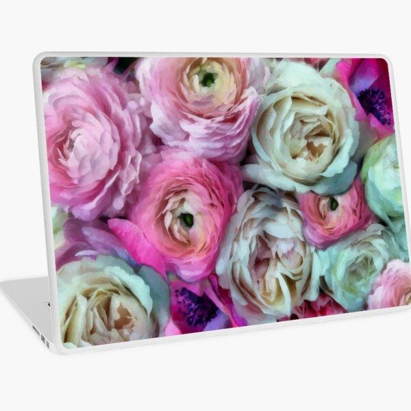 Romantic Flowers I Laptop Skin
