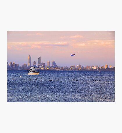 Perth City - Australia Day  Photographic Print