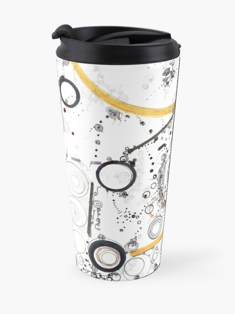 Alternate view of Cogs and Levers Travel Mug