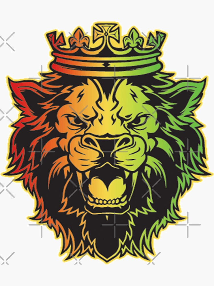 Lion Of Judah Rasta Dreads Roots Reggae Jamaica Culture by thespottydogg