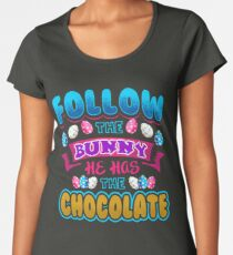 Funny Easter Bunny Apparel Women's Premium T-Shirt