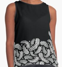 Tropical Abstracts - Falling Ferns Contrast Tank