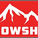 Skiing Snowshoe West Virginia Ski Mountains The East Snowboarding by MyHandmadeSigns