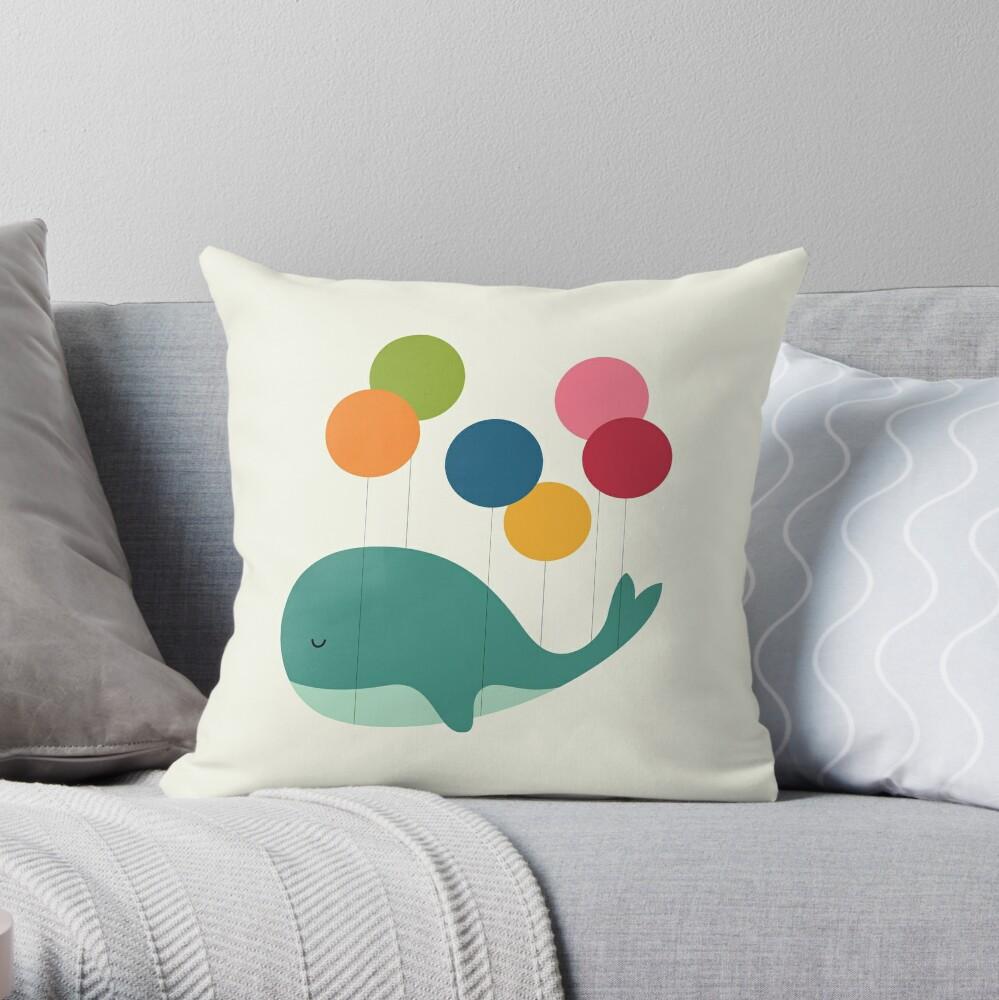 Dream Walker Throw Pillow