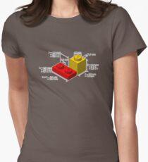LEGO Dimensionen Tailliertes T-Shirt