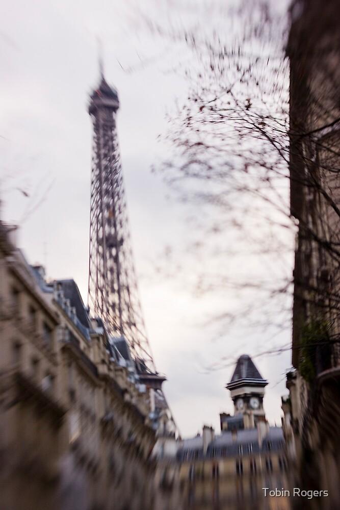 Eiffel Tower Grandeur by Tobin Rogers