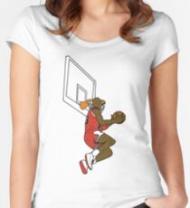 2f82bf232f71e9 The Great Dunk Women s Fitted Scoop T-Shirt