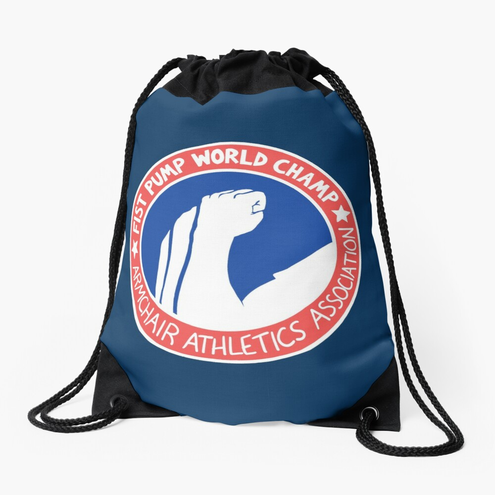 Fist Pump World Champ Drawstring Bag