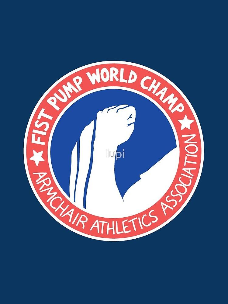 Fist Pump World Champ by lupi