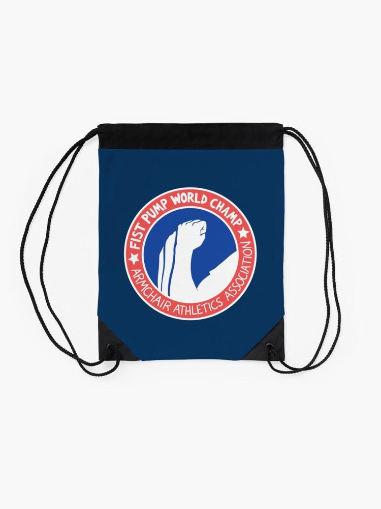Alternate view of Fist Pump World Champ Drawstring Bag