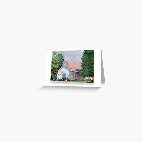 Sanctuary Collection, Spring Hill United Methodist Church, Laceyville, Pennsylvania Greeting Card