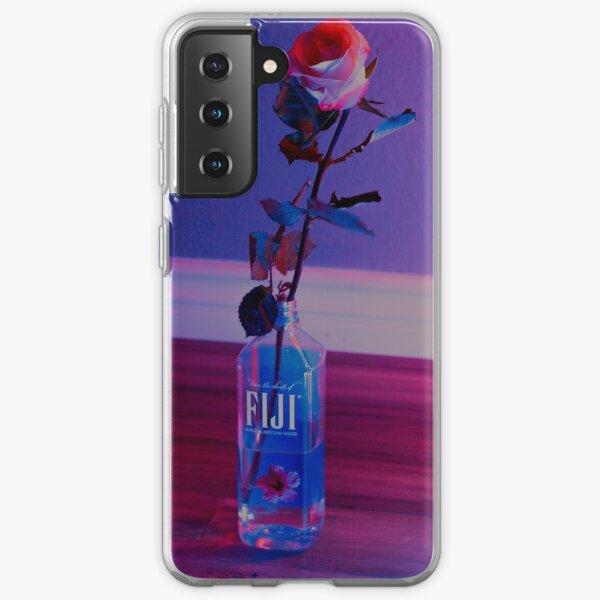 VaporWave rose Samsung Galaxy Soft Case