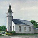 Sanctuary Collection, Jenningsville United Methodist Church, Jenningsville, Pennsylvania by TheRBStudio