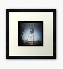TtV Water Tower Framed Print