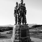 The Commando Memorial, near Spean Bridge village. Scotland. by Rob  Ford