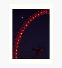 Quintessential London Night Art Print