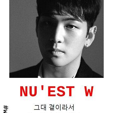 NU'EST W - #W.HERE KANG DONGHO 'BAEKHO' 지금까지 행복했어요 POSTER/SHIRT/NOTEBOOK (...) by wayfinder