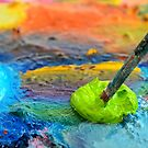 Paint and Brush by Maria Meester