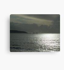 Isle of Wight Needles Canvas Print