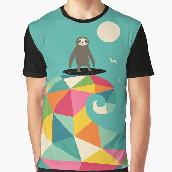 Surfs Up Graphic T-Shirt