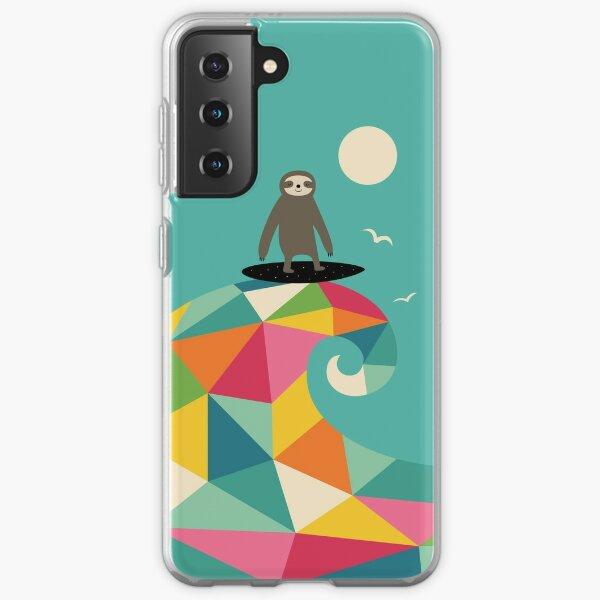 Surft auf Samsung Galaxy Flexible Hülle