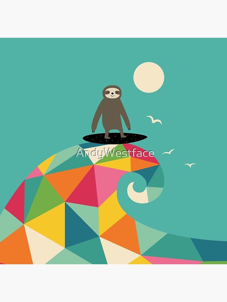 Surft auf von AndyWestface