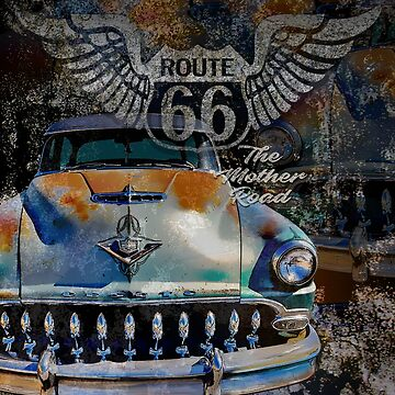 Route 66 De Soto by hotrodz