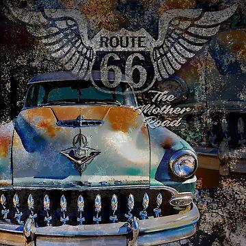 Route 66 De Soto by hotrodz