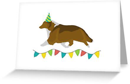 Shetland Sheepdog Sable Birthday Card