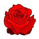 Red Rose by pda1986