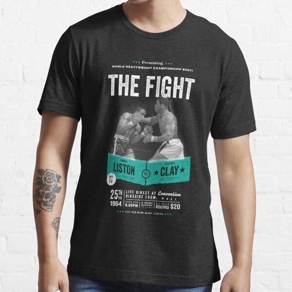 Cassius Clay vs Sonny Liston - Ali Boxing Shirt Essential T-Shirt
