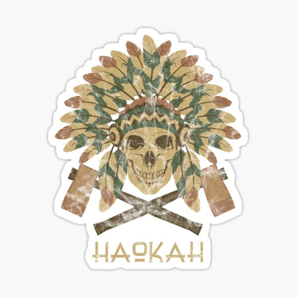 Haokah Empath Native American Sacred Clown Sticker