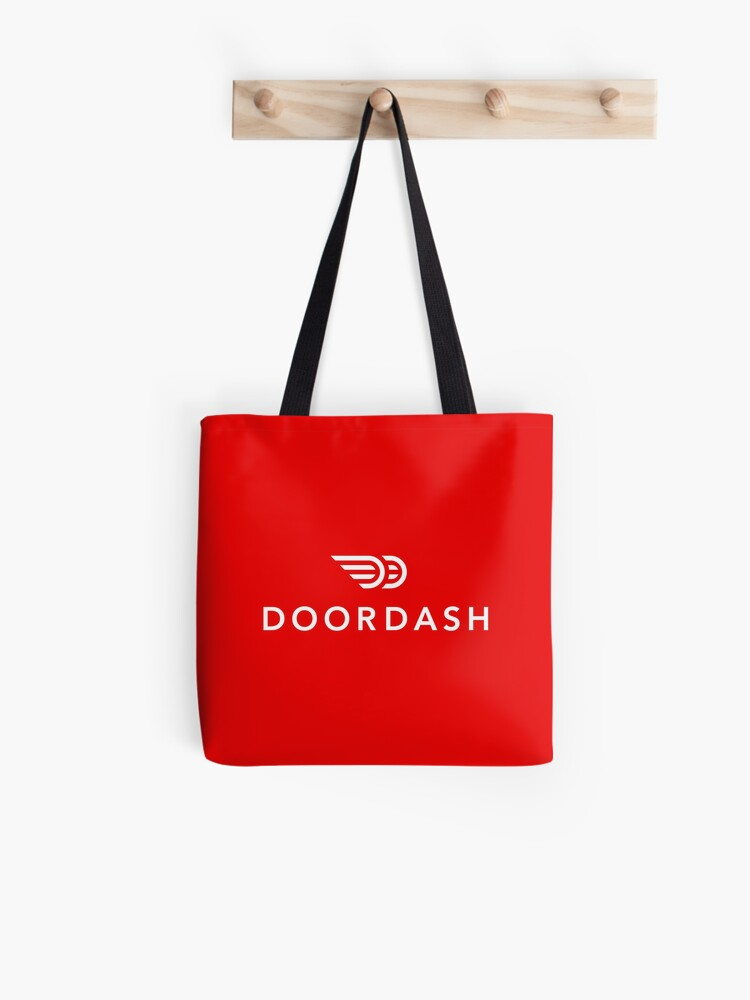 DoorDash Driver Apparel | Uploaded at 8100 px = super high quality print  (don't be fooled by cheap replicas) | Tote Bag