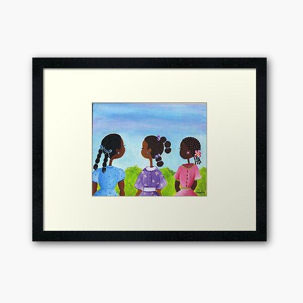 Cousins Framed Art Print