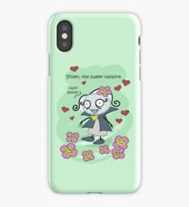 Violet, the sweet vampire. iPhone Case