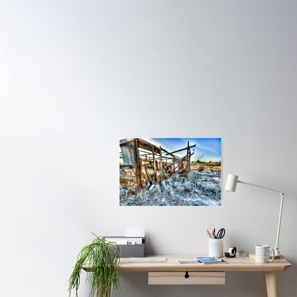 Trailer - not for rent: Salton Sea Beach Poster