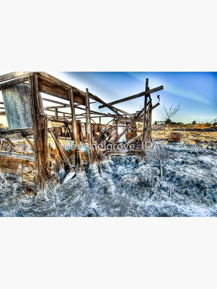 Trailer - not for rent: Salton Sea Beach by tobysnelgrove