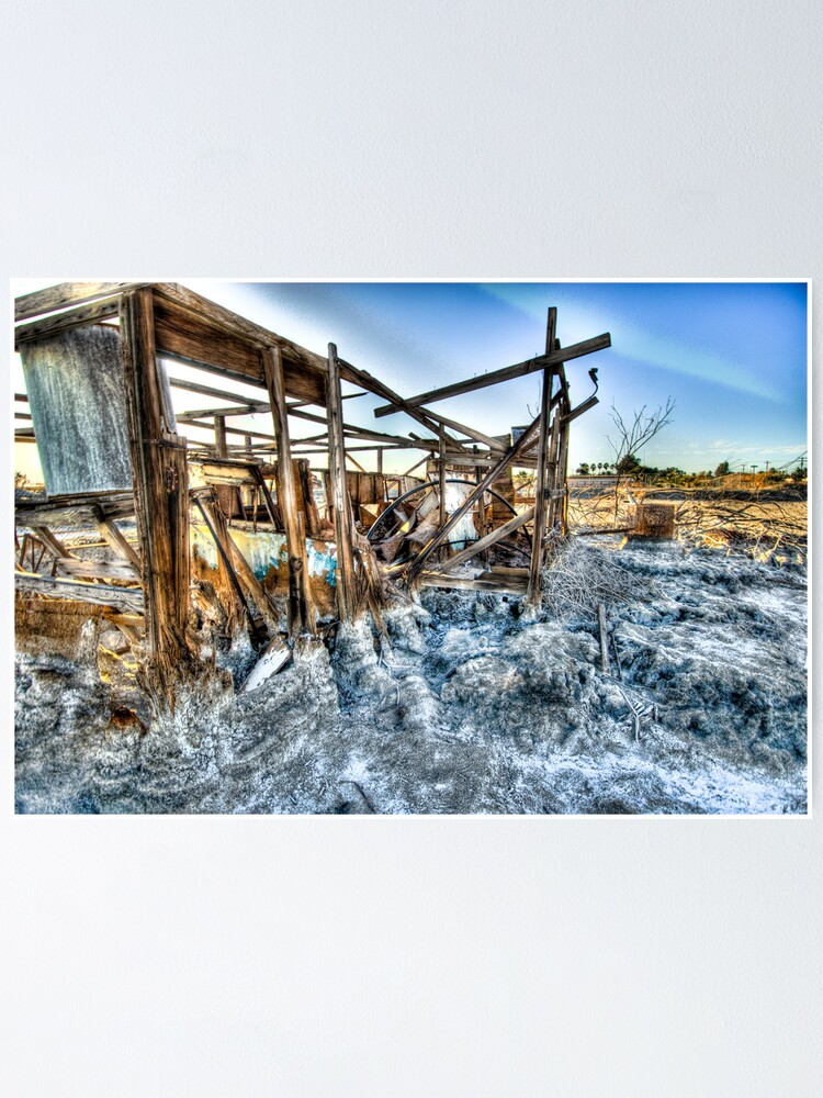 Alternate view of Trailer - not for rent: Salton Sea Beach Poster