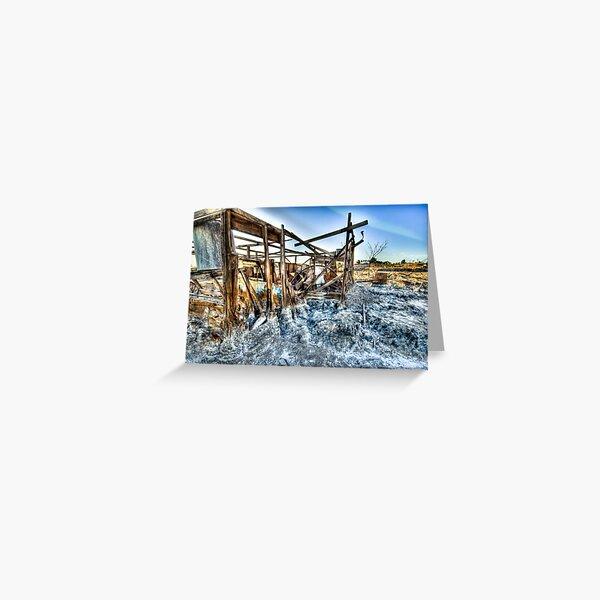 Trailer - not for rent: Salton Sea Beach Greeting Card