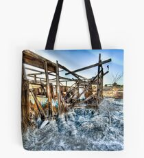Trailer - not for rent: Salton Sea Beach Tote Bag