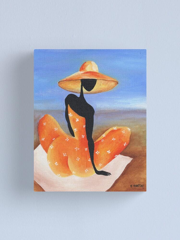 Alternate view of Sitting Pretty Canvas Print