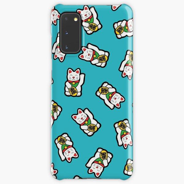Lucky Cat Pattern Samsung Galaxy Snap Case