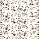 Scandinavian Country  Os Rosemaling inspired by Forestwood